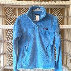 Patagonia  retool  snap t pullover fleece jacket